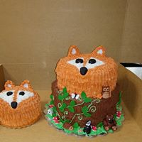 Fox cake - Donna's Sweets
