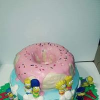 Simpson Cake - Donna's Sweets