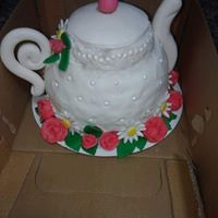 Teapot cake - Donna's Sweets
