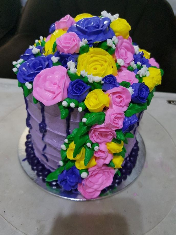 4 - Purple Heart Cup-cakes