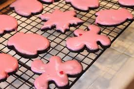 ginger - Oven Drying Iced Cookies
