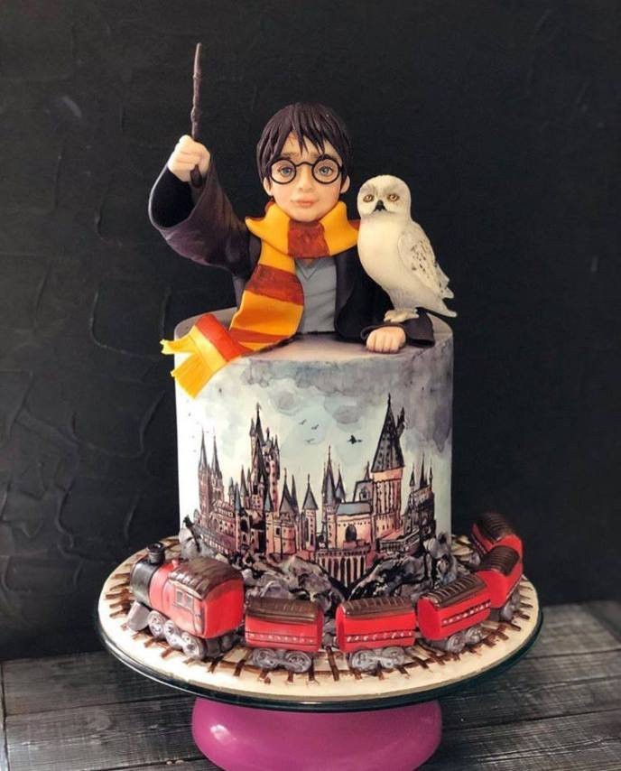 harry and owl clay - Fondant Character Ideas