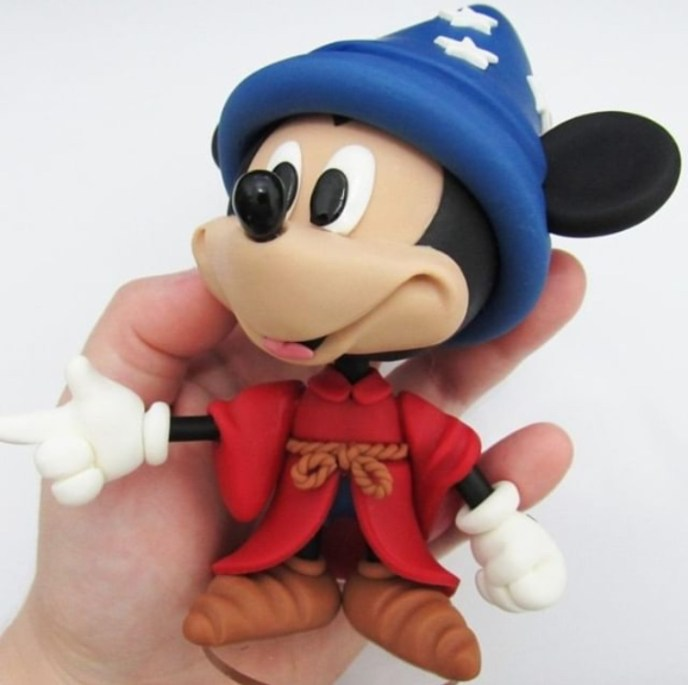 mickey clay - Fondant Character Ideas