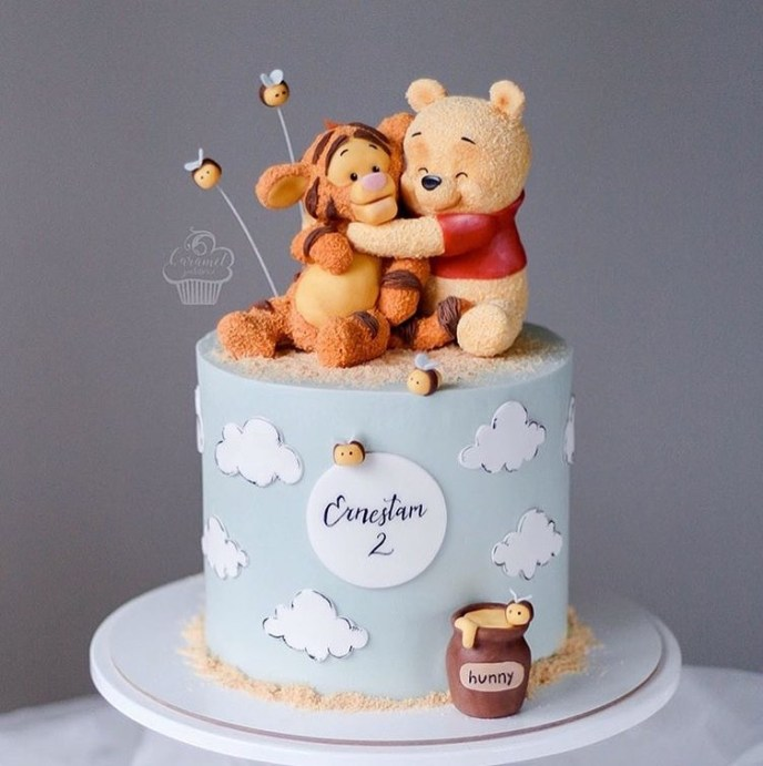 pooh and tigger clay - Fondant Character Ideas