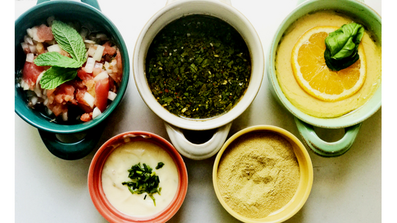 5 Whole 30 Sauces and Seasonings
