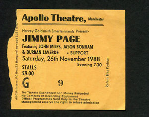 jimmy page outrider tour 1988