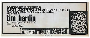 led zeppelin whiskey a go go 1969