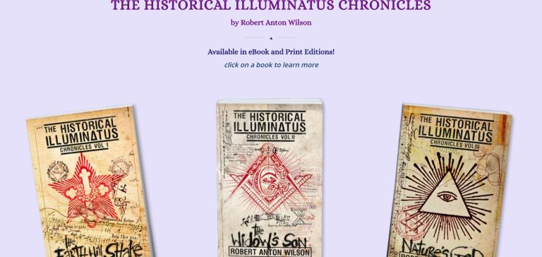 robert anton wilson historical illuminatus chronicles