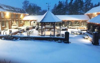 We're open, despite the snow!