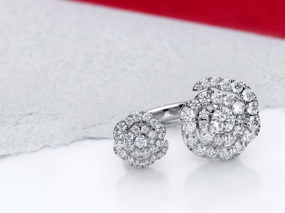 diamond jewelry hearts on