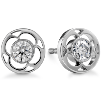 Diamond Earrings: Diamond Stud Earrings Single