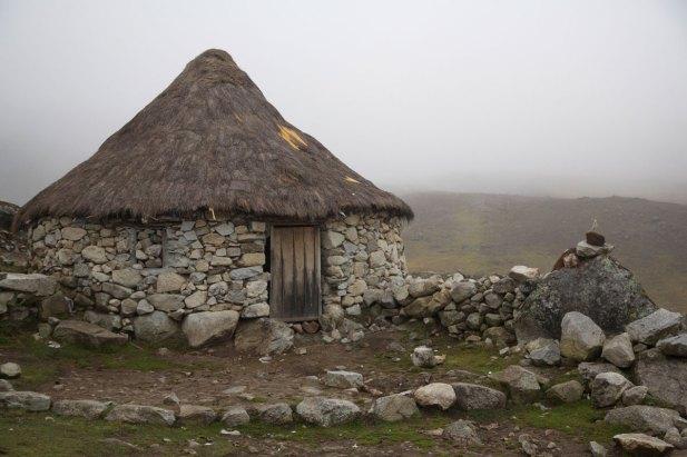 A typical Q'ero stone home