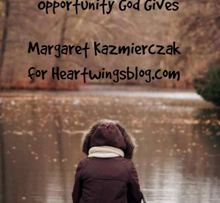 Embracing Every Opportunity God Gives – my book