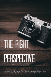 Our perspective on life greatly depends on what we believe happens at the end of it. How's your perspective?