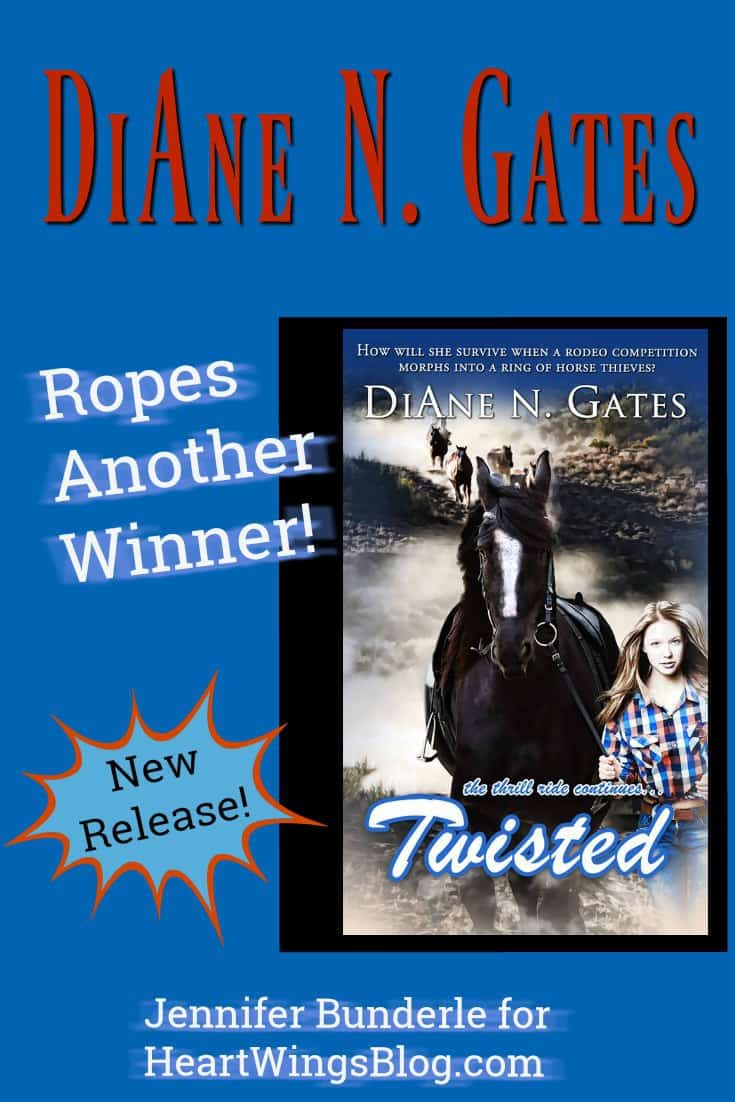 Featured on HeartWIngsBlog.com is Jennifer Bunderle's interview with Christian author DiAne N. Gates of the Roped series!