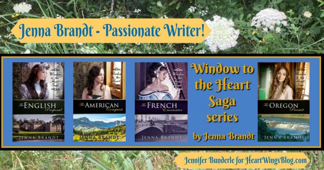 Jenna Brandt – Passionate Writer!