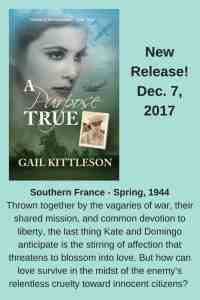 A Purpose True, the newest from author Gail Kittleson, featured on HeartWings Blog, releases 12/7/17.