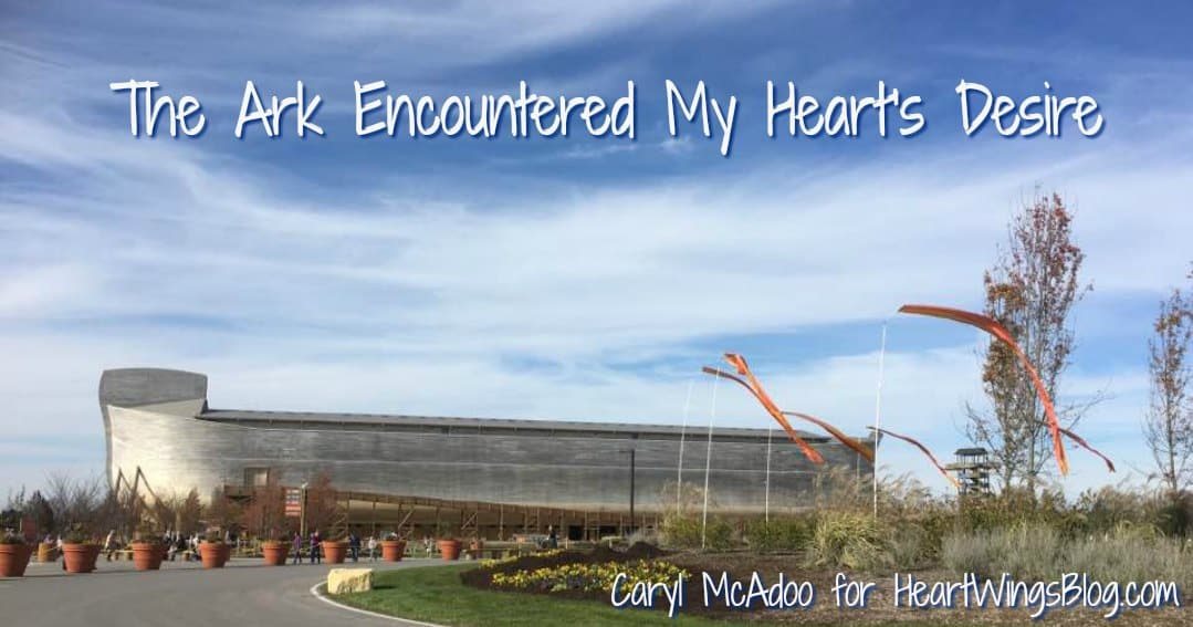 The Ark Encountered My Heart's Desire