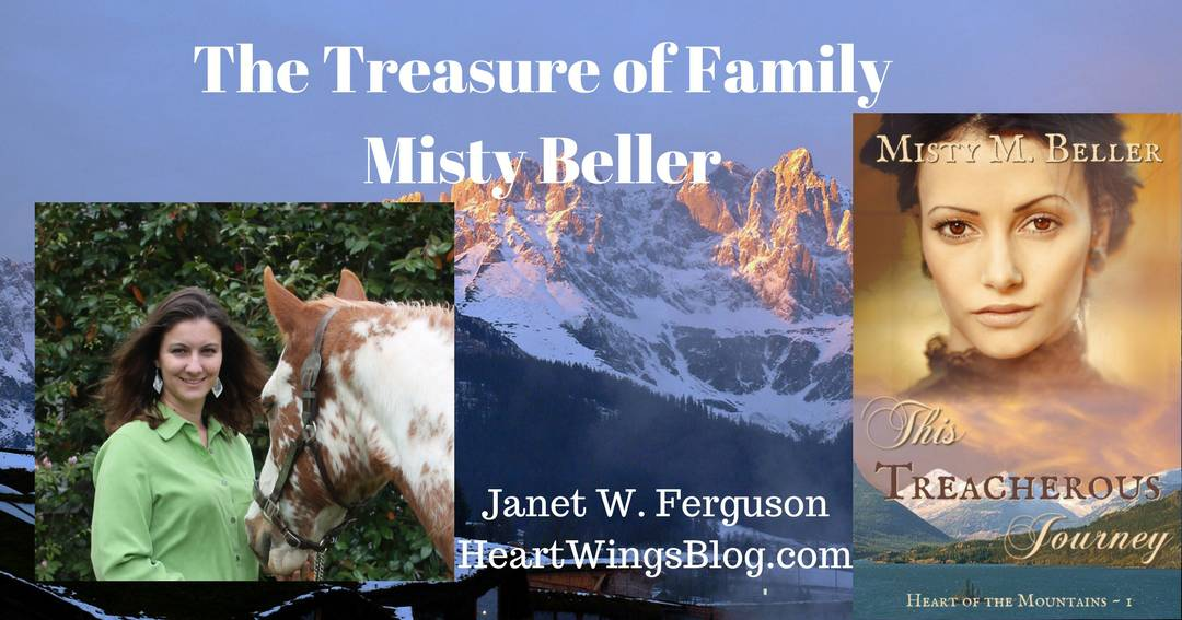 Author Misty Beller – The Treasure of Family and a Giveaway!
