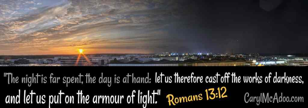 The difference between day and night Romans 13:12
