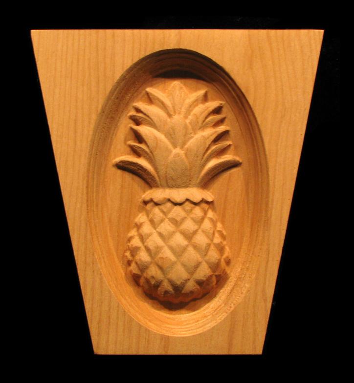 Keystone  Classic Pineapple Carving