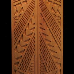 Kitchen Art Decor Indoor Grill Kappa Panel | Carved