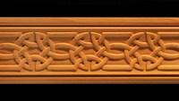 Moulding - Celtic Knot Carved Wood