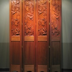 Grapes And Wine Kitchen Decor Cheap Extractor Fan Decorative Partition Screen - Carved