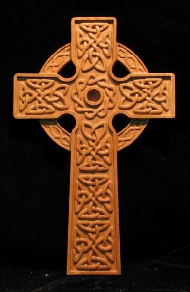 Gift  Celtic Ringed Cross  12  Celtic Gaelic and Weaves