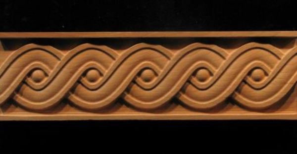 kitchen islands designs buy island frieze - running coin weave decorative carved wood molding