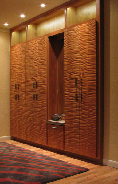 Textured Wardrobe  Cabinetry and Doors