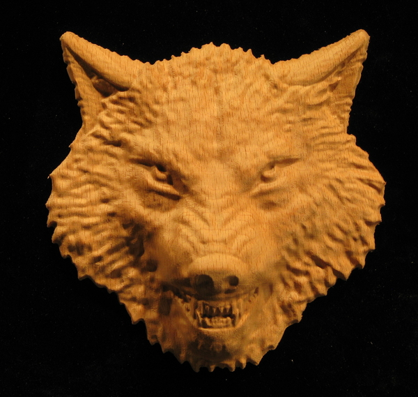 Onlay  Wolf Head
