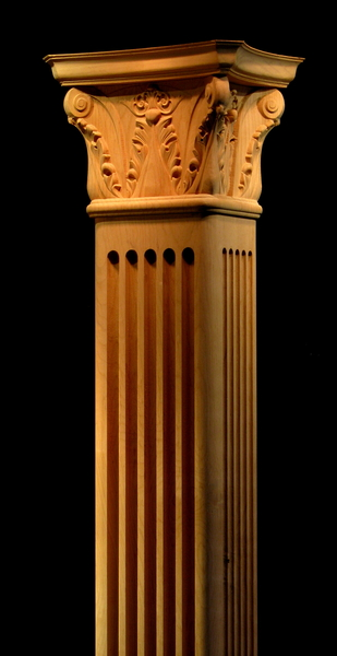 Square Corinthian Column Columns Legs Newel Posts And
