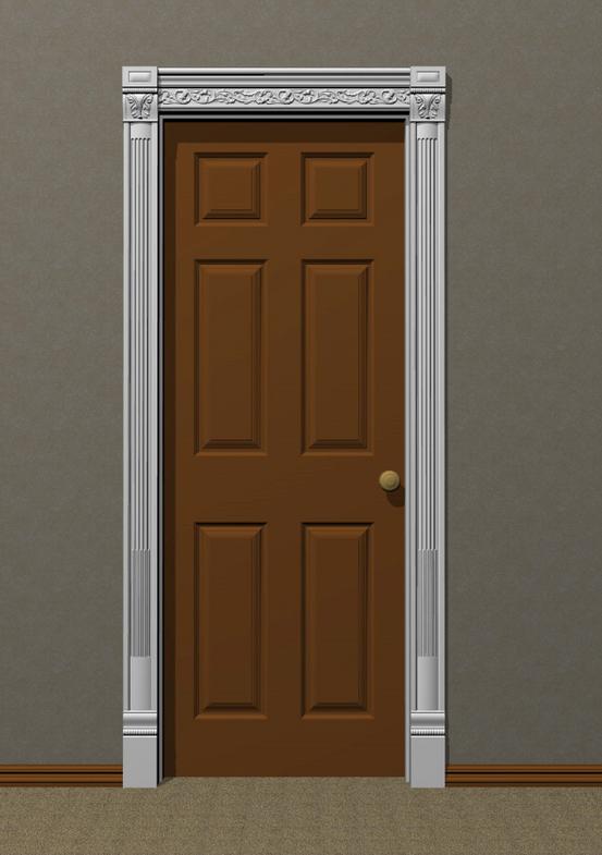 Carved Door Trim 18