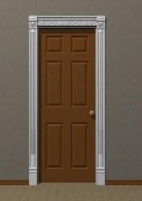 Carved Door Trim #18