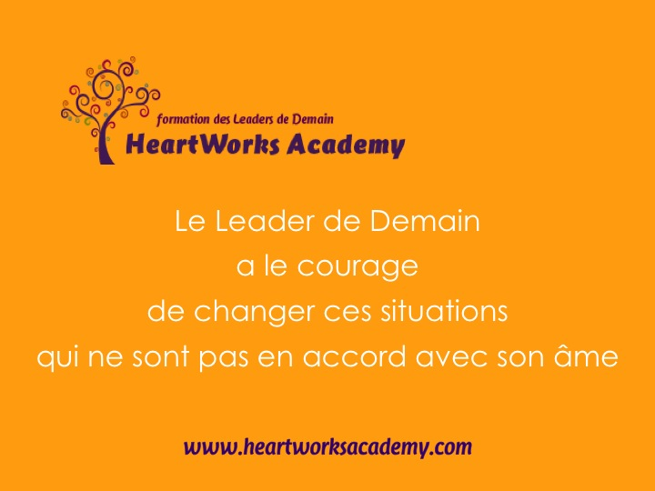 Le Leader de Demain - Courage