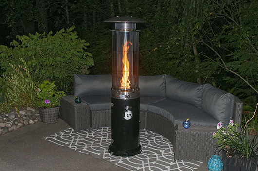 gas patio heaters in stock
