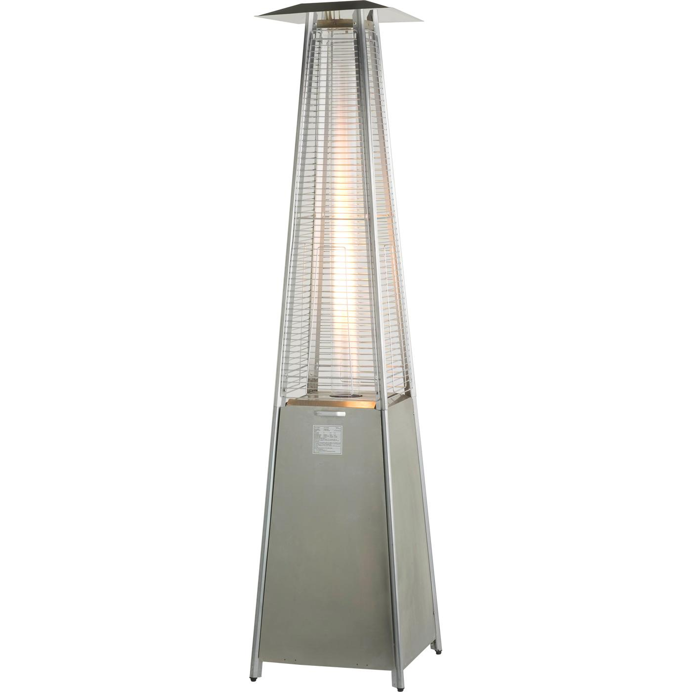 Athena Stainless Steel Flame Gas Patio Heater  Heat Outdoors