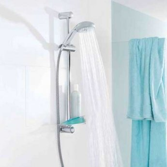 grohe new tempesta 600mm shower rail chrome