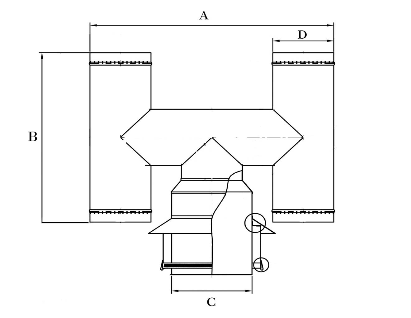 hight resolution of h cowl for 9 inch clay chimney pot diagram