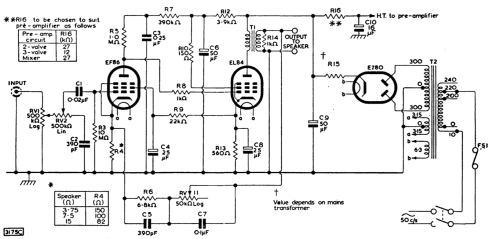 small resolution of 3w single ended class a stereo tube amplifier u2013 heated cathode national amp schematic