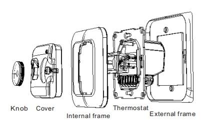 Electronic 24VAC Manual Underfloor Heating Programmable