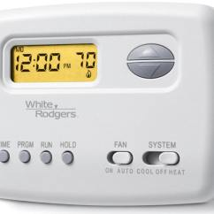 Room Thermostat Wiring Diagram Light Circuit Uk 1f78-151 White-rodgers Low Voltage Single Stage Programmable
