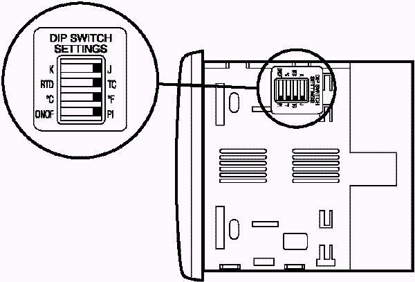 Chromalox 2110 Digital 1/4 DIN Temperature Controls