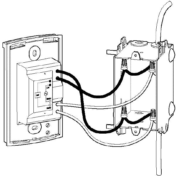 wiring a thermostat to heater