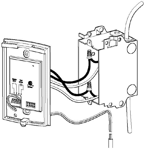 line voltage thermostat wiring diagram explanation aube technologies th115-a series, thermostat, double pole 240v