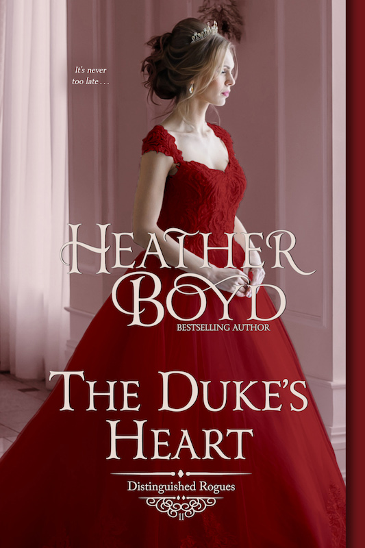 Book cover for The Duke's Heart