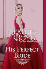 His Perfect Bride regency romance book cover image