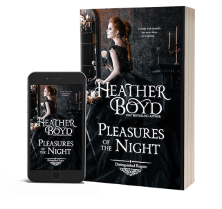 ebook and paperback of Pleasures in the Night