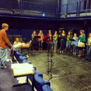 The 24 Rehearses
